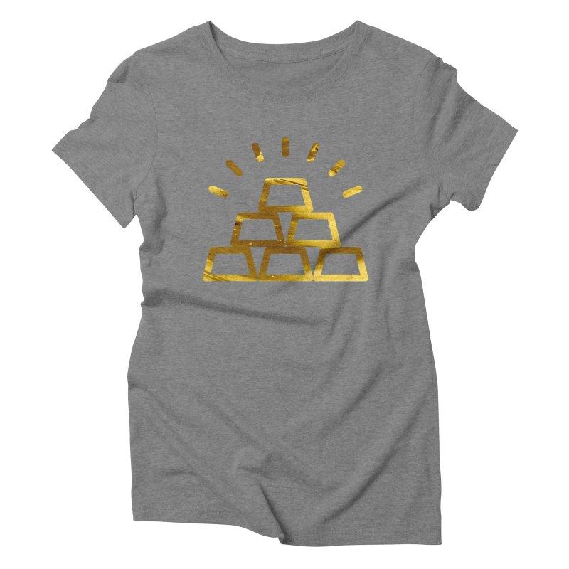 STACKS Women's Triblend T-Shirt by Smart Boy Merch