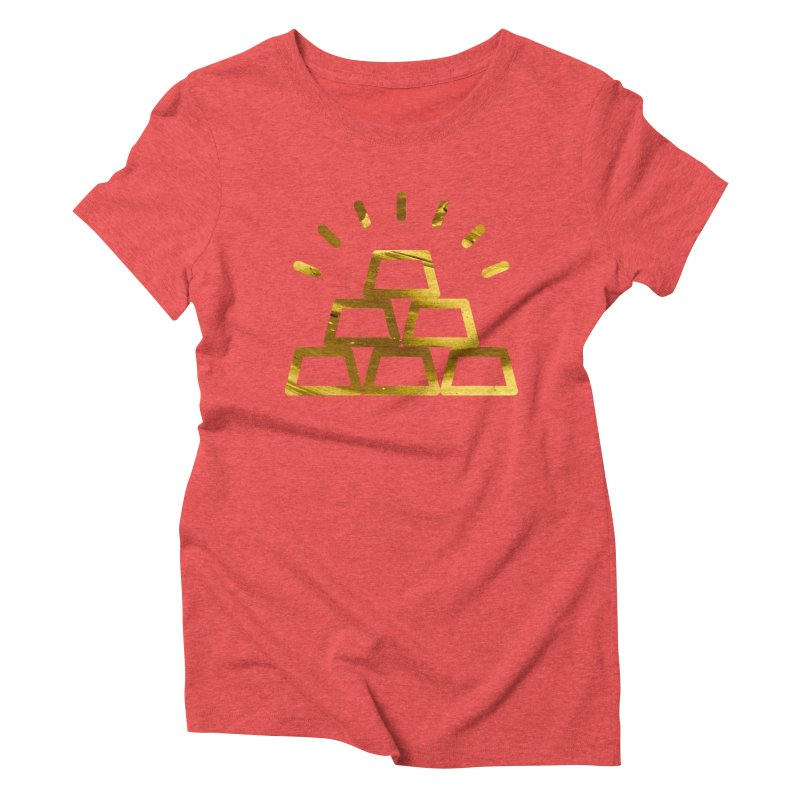 STACKS Women's Triblend T-Shirt by Smart Boy Merch