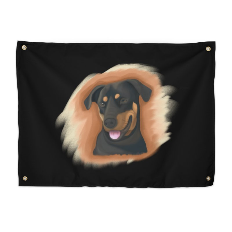 MILO Home Tapestry by Smart Boy Merch
