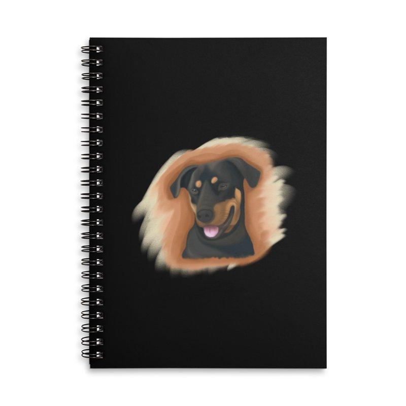 MILO Accessories Lined Spiral Notebook by Smart Boy Merch