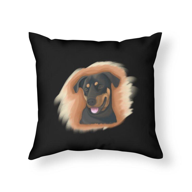 MILO Home Throw Pillow by Smart Boy Merch