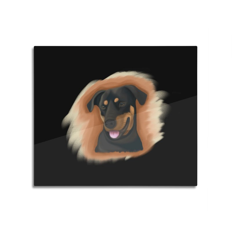 MILO Home Mounted Acrylic Print by Smart Boy Merch