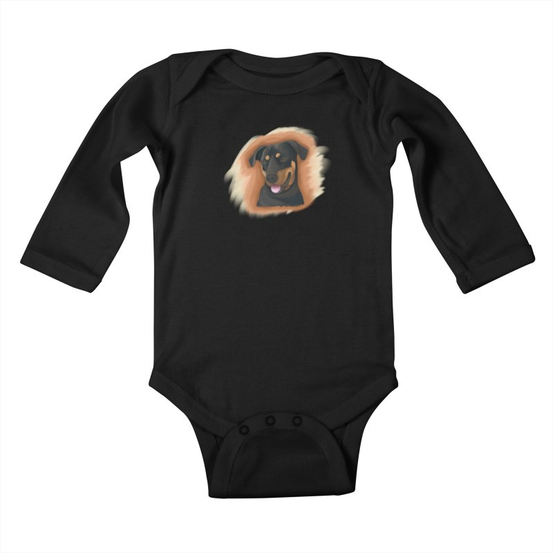 MILO Kids Baby Longsleeve Bodysuit by Smart Boy Merch