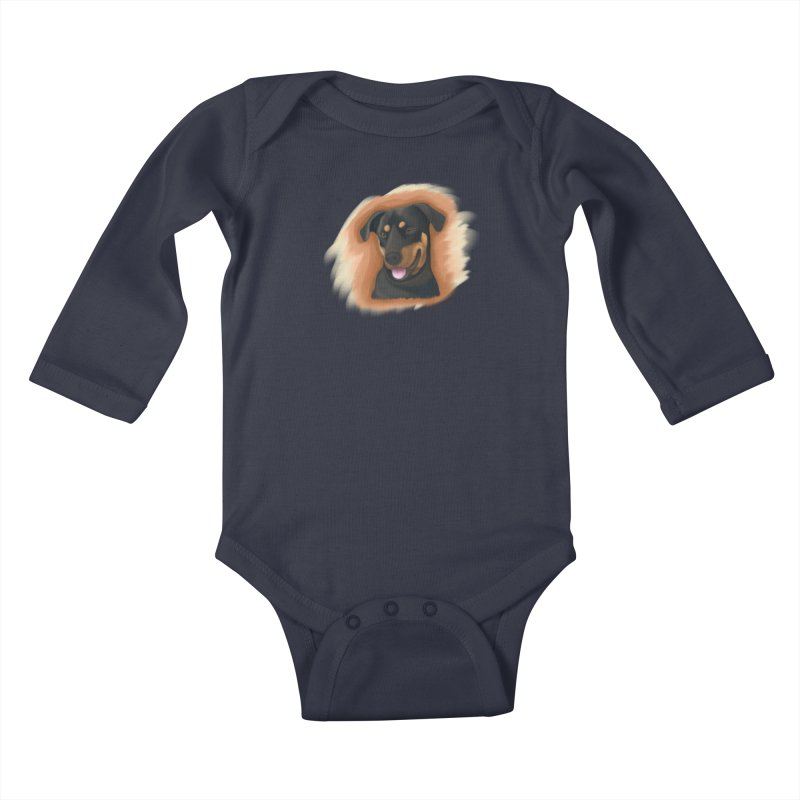 MILO Kids Baby Longsleeve Bodysuit by Smart Boy Merch