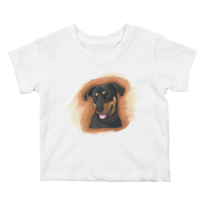 MILO Kids Baby T-Shirt by Smart Boy Merch