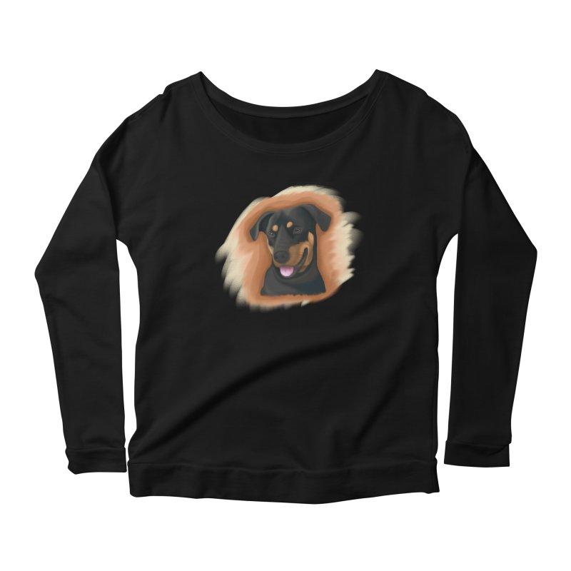 MILO Women's Scoop Neck Longsleeve T-Shirt by Smart Boy Merch