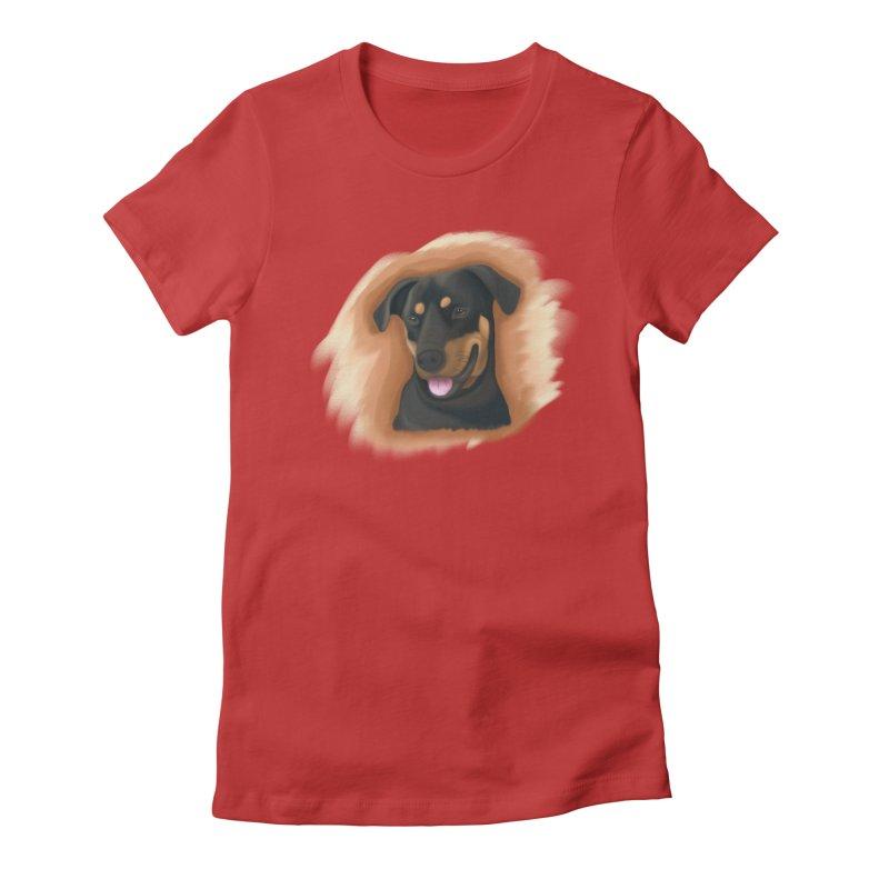 MILO Women's Fitted T-Shirt by Smart Boy Merch