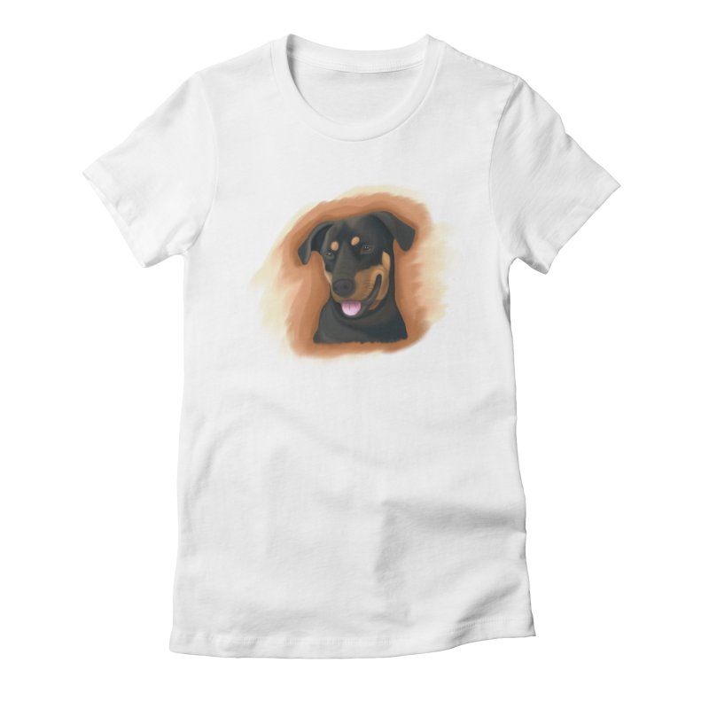 MILO Women's Fitted T-Shirt by Smart Boy Merch