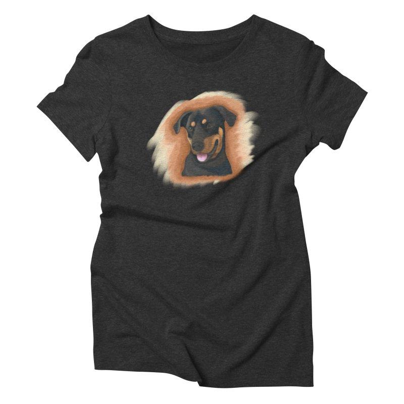 MILO Women's Triblend T-Shirt by Smart Boy Merch