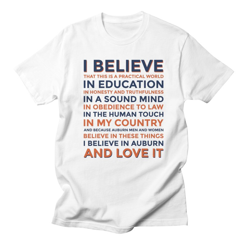 I Believe Men's T-Shirt by Smart Material