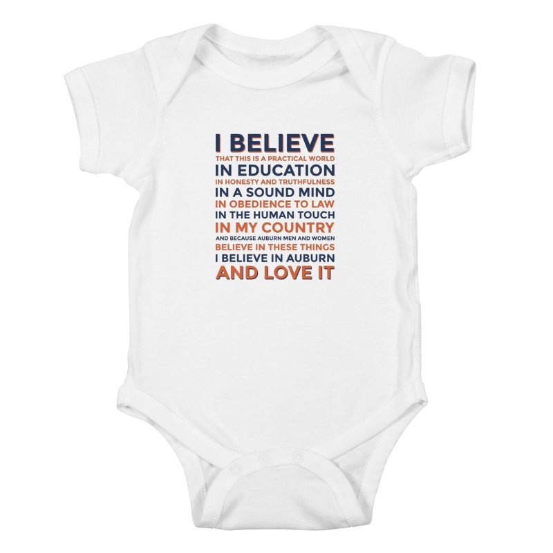 I Believe Kids Baby Bodysuit by Smart Material