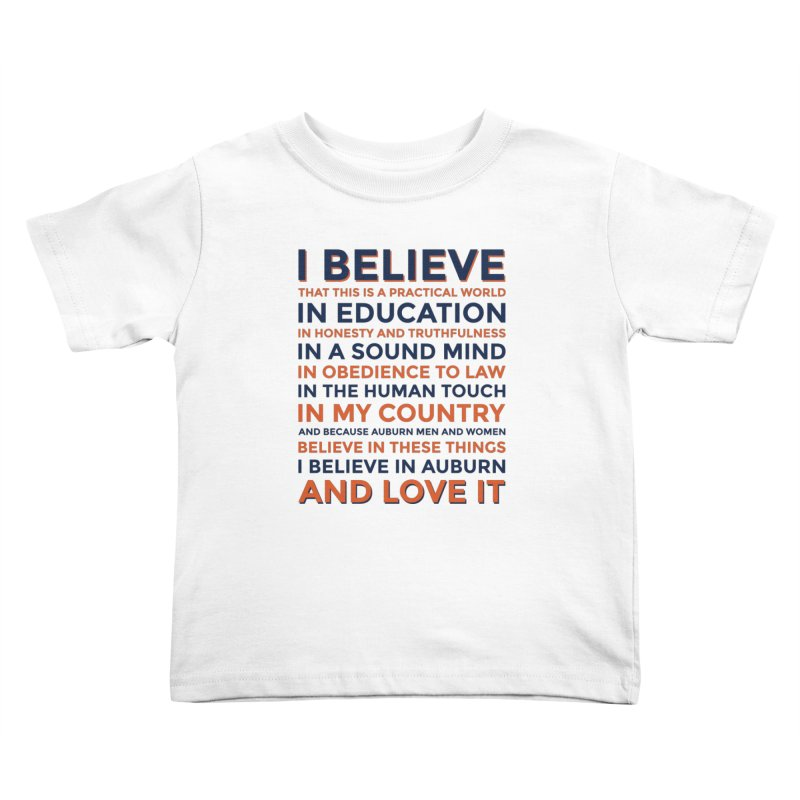I Believe Kids Toddler T-Shirt by Smart Material