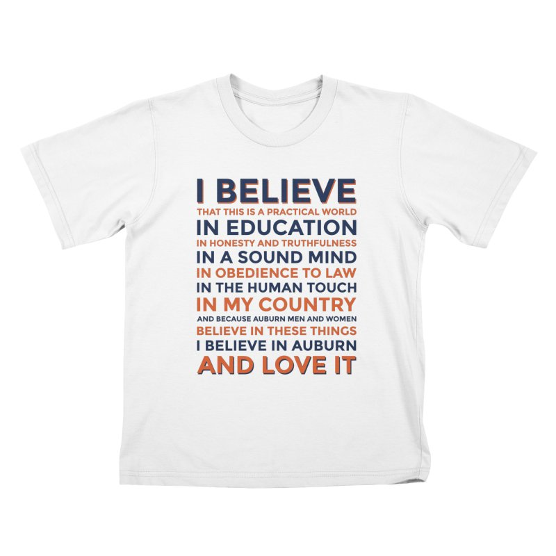 I Believe Kids T-Shirt by Smart Material