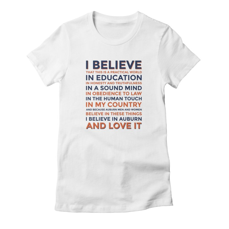 I Believe Women's T-Shirt by Smart Material