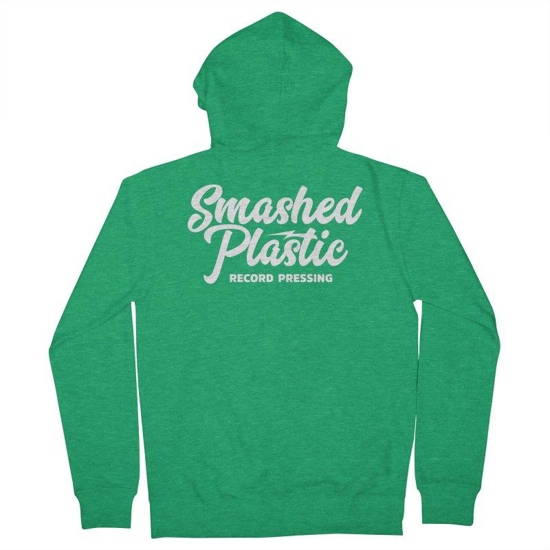 Alternate Logo Women's Zip-Up Hoody by Smashed Plastic's Artist Shop