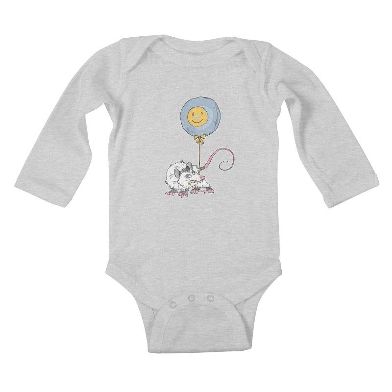 Buddy Kids Baby Longsleeve Bodysuit by Kyle Smeallie's Design Store