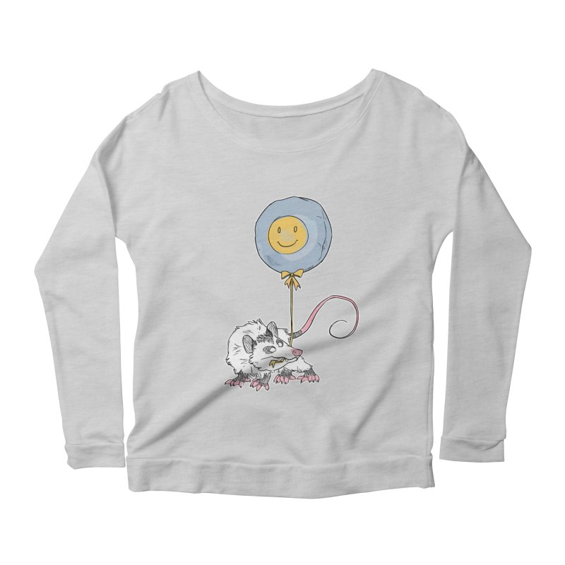 Buddy Women's Scoop Neck Longsleeve T-Shirt by Kyle Smeallie's Design Store