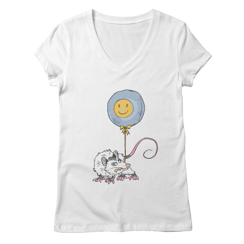Buddy Women's Regular V-Neck by Kyle Smeallie's Design Store