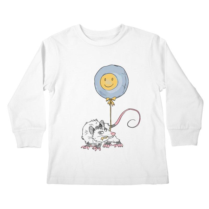 Buddy Kids Longsleeve T-Shirt by Kyle Smeallie's Design Store