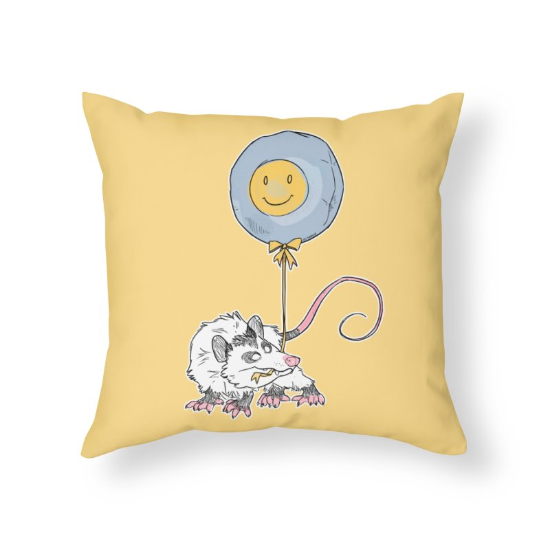 Buddy Home Throw Pillow by Kyle Smeallie's Design Store