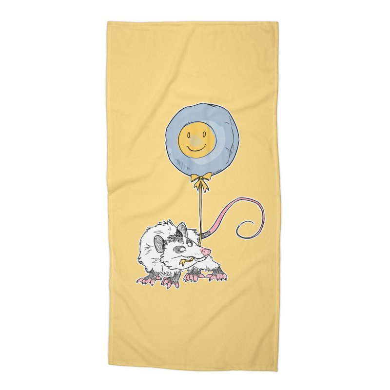 Buddy Accessories Beach Towel by Kyle Smeallie's Design Store