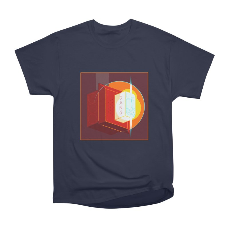 Fire Alarm Men's Heavyweight T-Shirt by Kyle Smeallie's Design Store