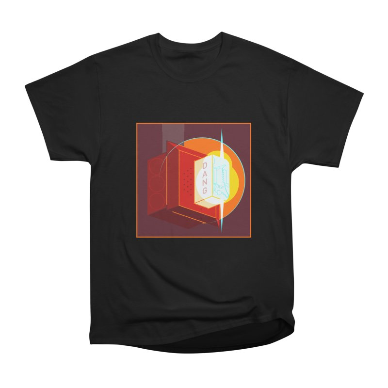 Fire Alarm Women's Heavyweight Unisex T-Shirt by Kyle Smeallie's Design Store