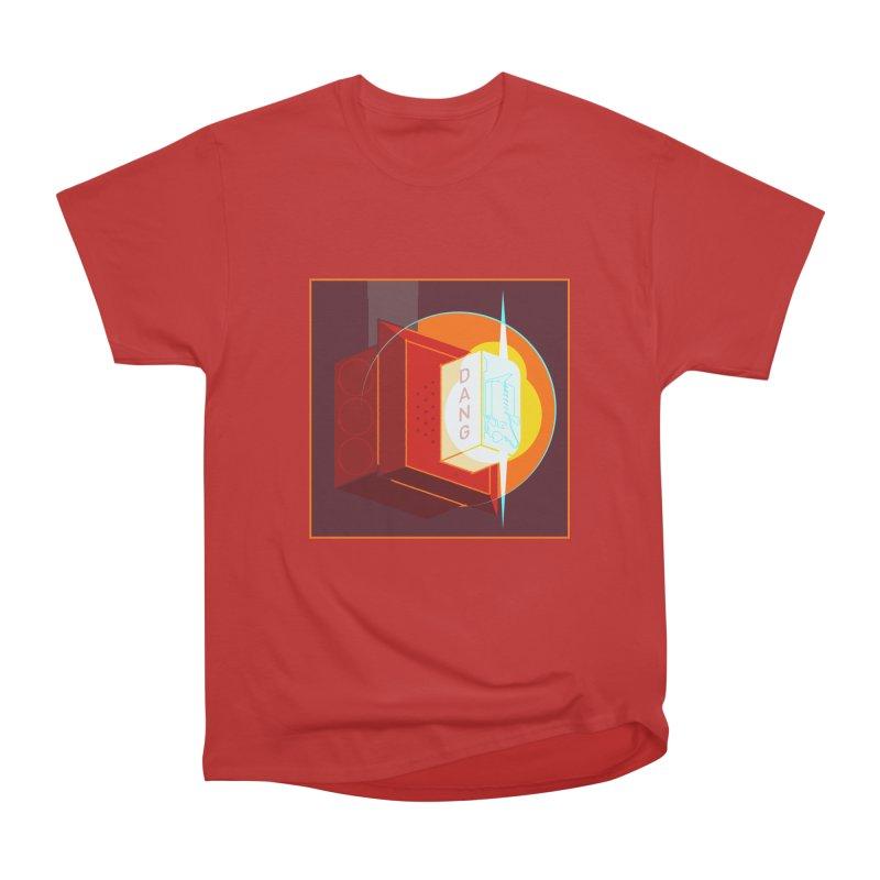 Fire Alarm Women's Heavyweight Unisex T-Shirt by Kyle Smeallie's Design Store