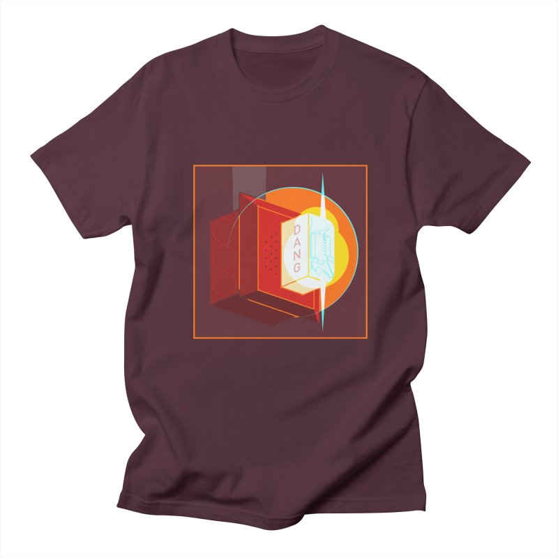 Fire Alarm Men's Regular T-Shirt by Kyle Smeallie's Design Store