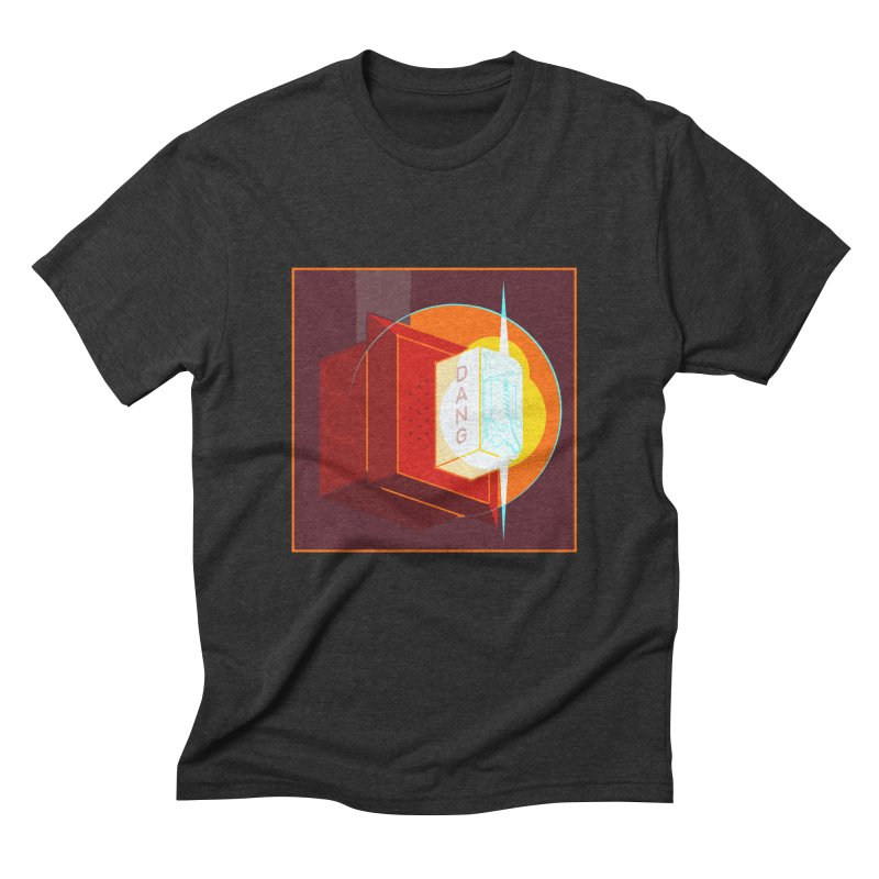 Fire Alarm Men's Triblend T-Shirt by Kyle Smeallie's Design Store