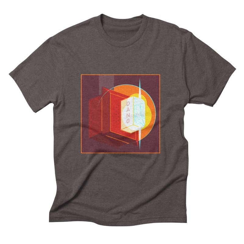 Fire Alarm Men's Triblend T-Shirt by Kyle Smeallie's Design Store