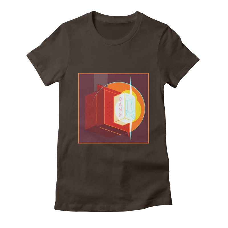Fire Alarm Women's Fitted T-Shirt by Kyle Smeallie's Design Store