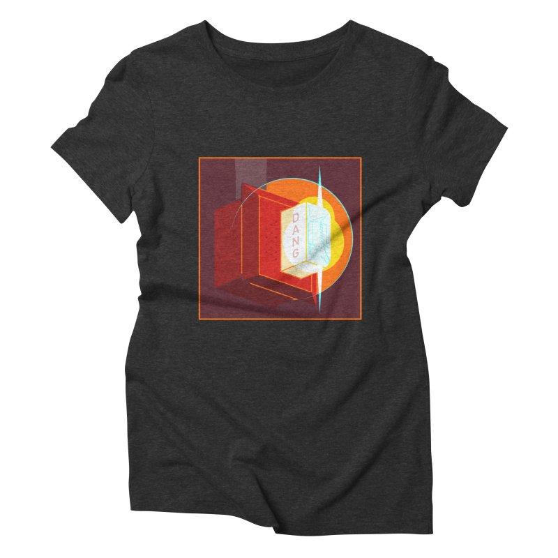 Fire Alarm Women's Triblend T-Shirt by Kyle Smeallie's Design Store