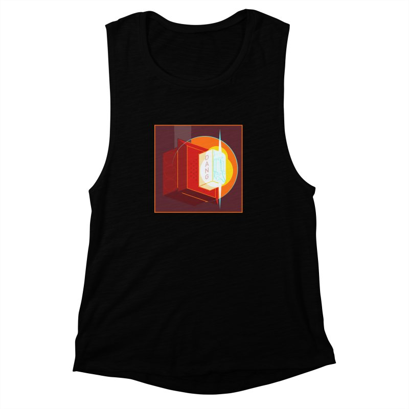 Fire Alarm Women's Muscle Tank by Kyle Smeallie's Design Store