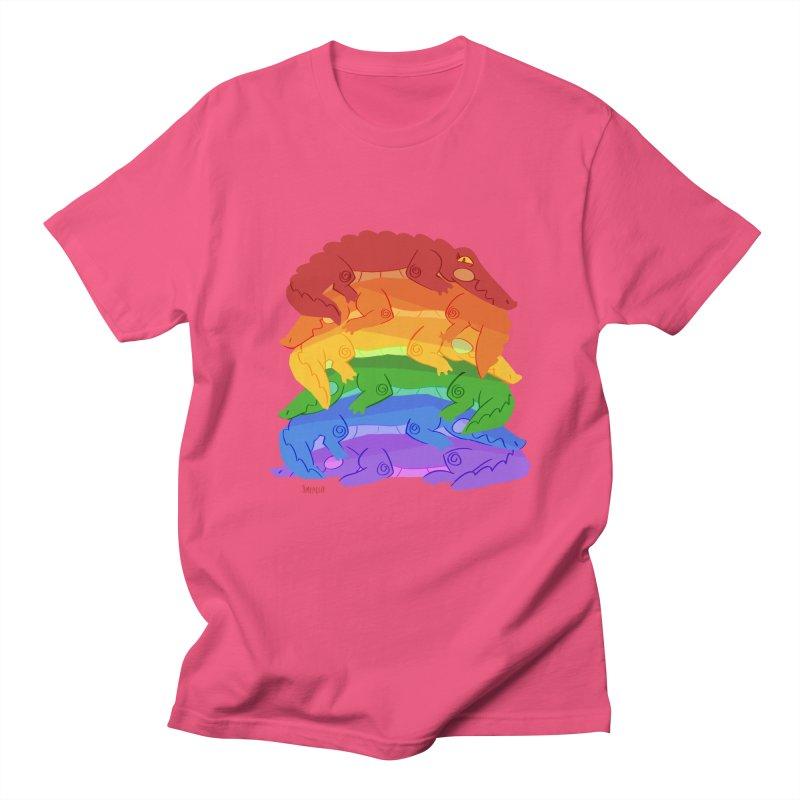 gator pride Men's Regular T-Shirt by Kyle Smeallie's Design Store