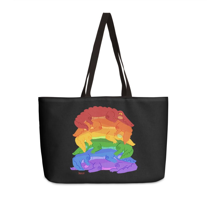 gator pride Accessories Weekender Bag Bag by Kyle Smeallie's Design Store