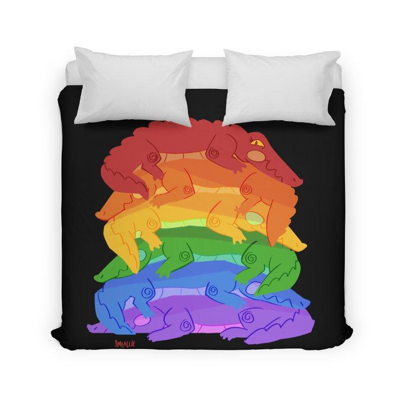 gator pride Home Duvet by Kyle Smeallie's Design Store