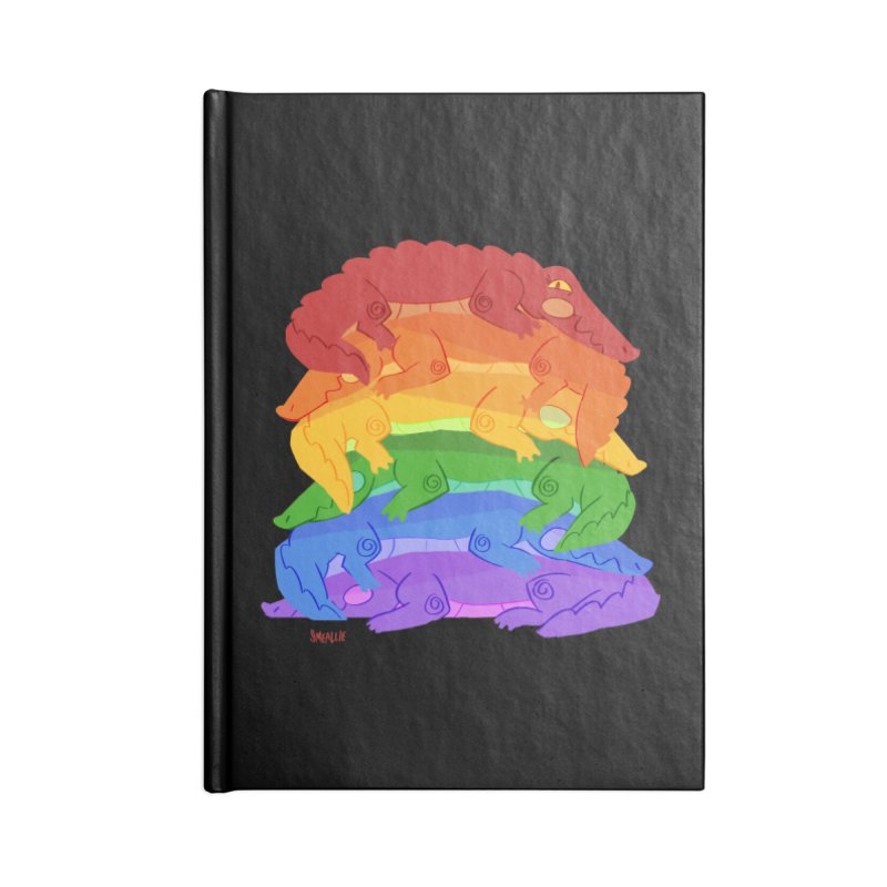gator pride Accessories Lined Journal Notebook by Kyle Smeallie's Design Store