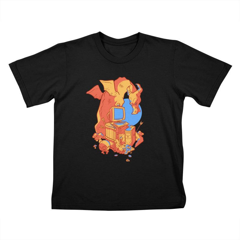 XP Kids T-Shirt by Kyle Smeallie's Design Store