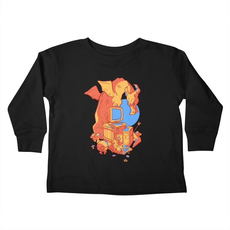 XP Kids Toddler Longsleeve T-Shirt by Kyle Smeallie's Design Store