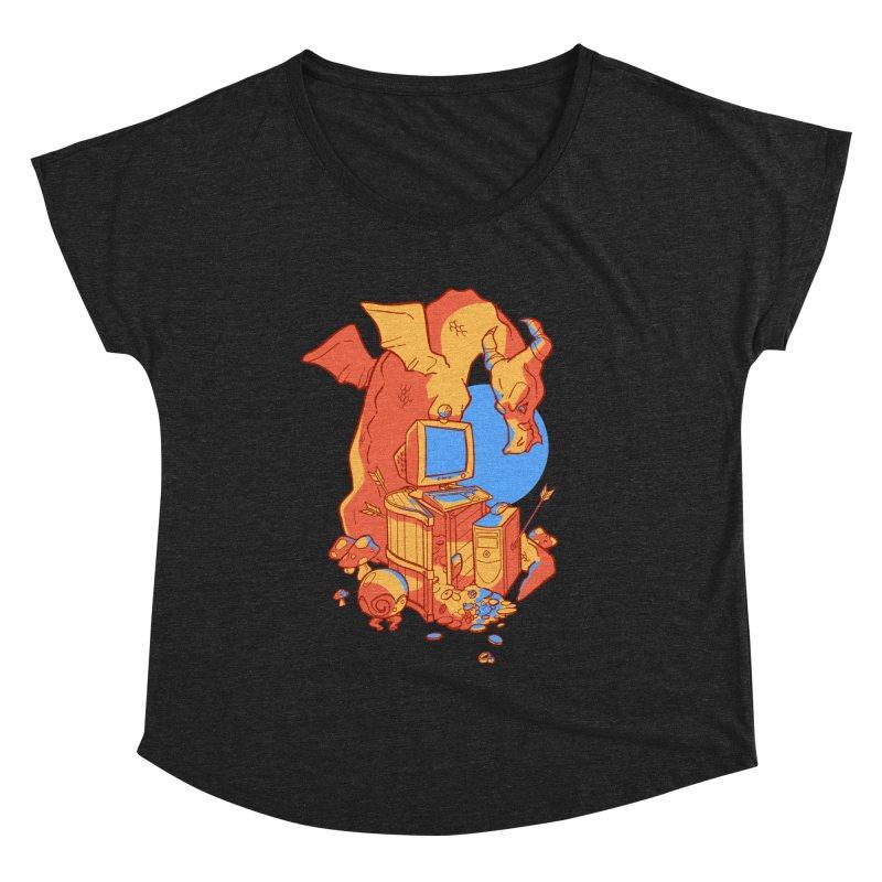 XP Women's Dolman Scoop Neck by Kyle Smeallie's Design Store