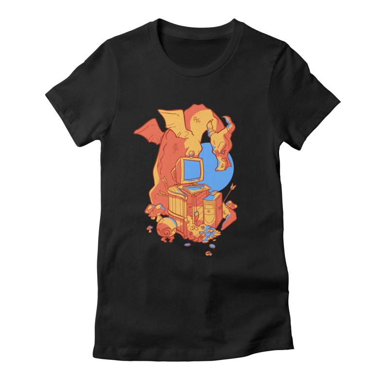 XP Women's Fitted T-Shirt by Kyle Smeallie's Design Store