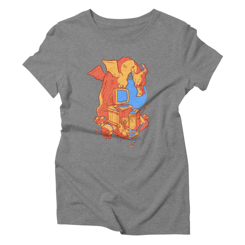 XP Women's Triblend T-Shirt by Kyle Smeallie's Design Store