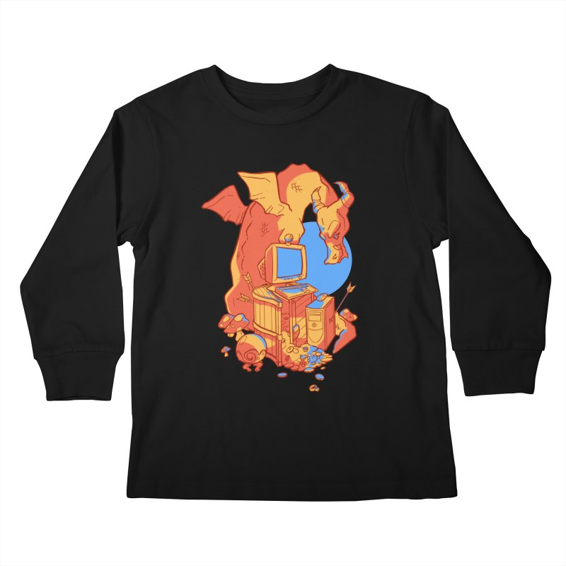 XP Kids Longsleeve T-Shirt by Kyle Smeallie's Design Store