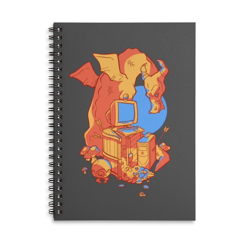 XP Accessories Lined Spiral Notebook by Kyle Smeallie's Design Store