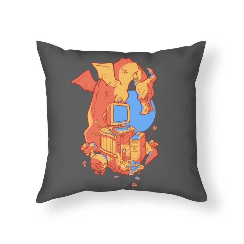 XP Home Throw Pillow by Kyle Smeallie's Design Store