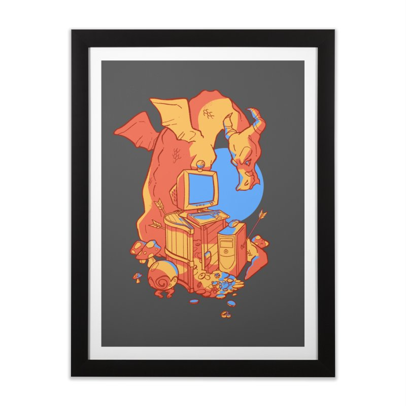 XP Home Framed Fine Art Print by Kyle Smeallie's Design Store