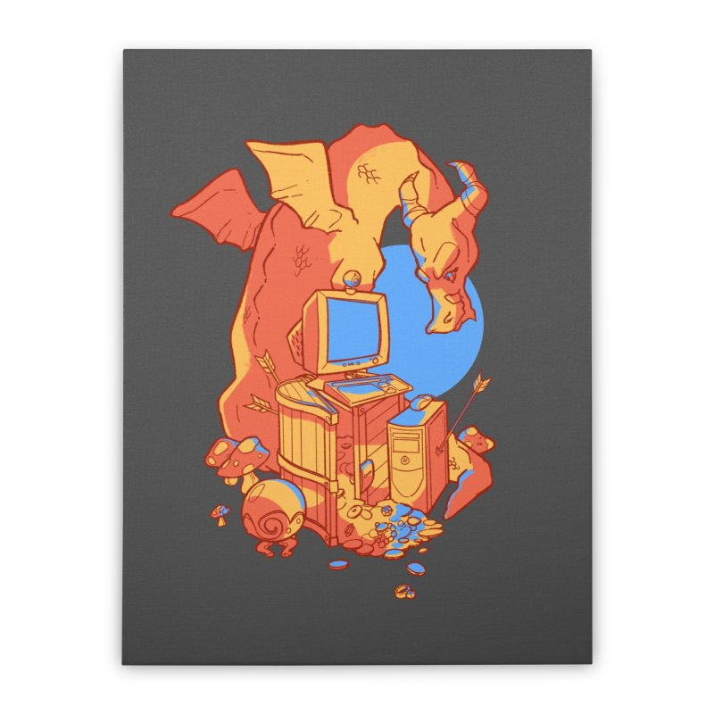 XP Home Stretched Canvas by Kyle Smeallie's Design Store
