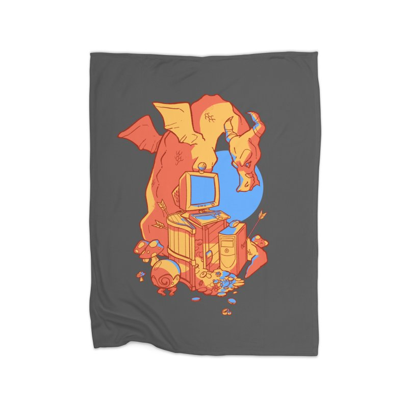 XP Home Fleece Blanket Blanket by Kyle Smeallie's Design Store