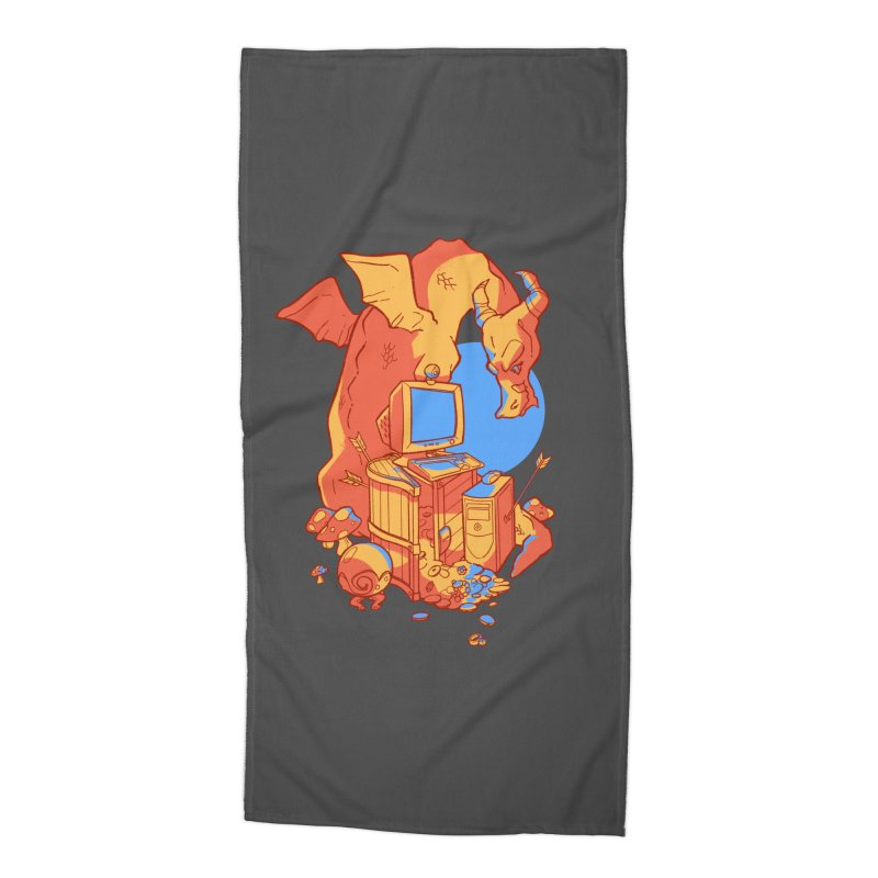 XP Accessories Beach Towel by Kyle Smeallie's Design Store